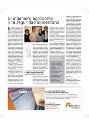 """Article Diari La Vanguardia """"El Ingeniero Agrónomo y la seguridad alimentaria"""""""