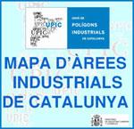 Mapa de les àrees industrials de Catalunya en funcionament