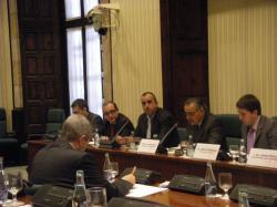 Compareixença del degà, Josep M. Rofes, a la Comissió d'Agricultura, Ramaderia i Pesca del Parlament de Catalunya , amb relació a la tramitació del Projecte de llei de regulació de l'Institut de Recerca i Tecnologia Agroalimentàries.