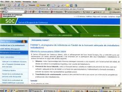 Oberta la convocatòria 2008-2009. FORMA'T, el programa de referència en l'àmbit de la formació adreçada als treballadors i treballadores
