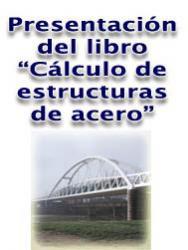 "Presentació del llibre ""Cálculo de estructuras de acero"" (Madrid, 6 octubre)"