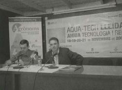 Presentació de la Comissió de l'Aigua del COEAC a la Fira AQUATECH Lleida