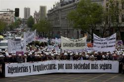 Manifestació a Madrid contra la Llei Òmnibus (7 de maig de 2010)