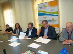El COEAC ha signat dos convenis de col·laboració,  amb els Consells Comarcals del Baix Camp i El Pla d'Urgell.