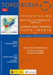 Presentació TOPO-IBERIA (Tres Cantos-Madrid, 22 juliol)