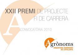 Premi Projecte Fi de Carrera. Edició 2010.