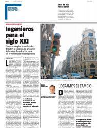 """Article publicat a La Vanguardia: """"Ingenieros para el siglo XXI"""""""