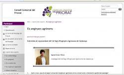 Carta del Paisatge del Priorat: Entrevista al vicedegà del Col·legi, Ignasi Grau.