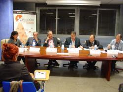 Debat de política de regadius a la delegació de Lleida del COEAC