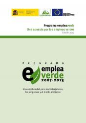 EMPLEAVERDE . Edició 2012   Convocatòria de presentació de projectes de millora d'ocupació i medi ambient