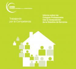 Nota de premsa de UPCI sobre l' Informe CNC de Col·legis professionals