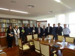 Reunió de la Fundació dieta Mediterrània al COEAC