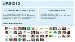 Recull Twiter RSG12 Congrés Rural Smart Grids