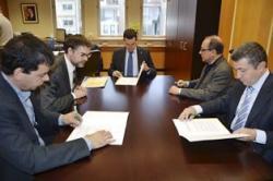 El DAAM i quatre Col·legis d'Enginyers relacionats amb el sector agrari i forestal signen un conveni de col·laboració