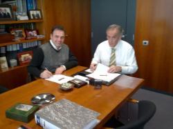 El passat 28 de desembre va tenir lloc la signatura d'un conveni entre FORÇA LLEIDA i el COEAC, amb una vigència de dues temporades (2012-13 i 2013-14)