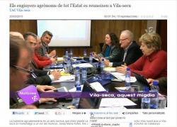 Els enginyers agrònoms de tot l'Estat es reuneixen a Vila-seca