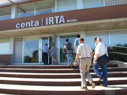 Els enginyers agrònoms visiten el Centre IRTA-CENTA de Monells