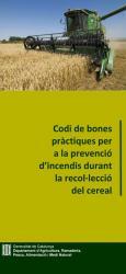 Bones práctiques per a la prevenció d'incendis durant la recol·lecció de cereal