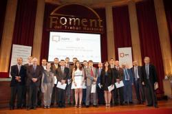 Cerimònia de lliurament de certificats AQPE als enginyers d'AQUALOGY