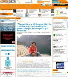 Entrevista a la presidenta del Congrés Rural Smart Grids, Verònica Kuchinow, a la revista CONELEDIGITAL construcción electricidad