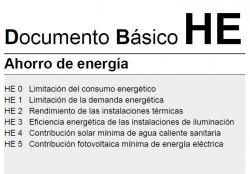 Publicat al BOE l'actualització del Document Bàsic DB HE «Estalvi d'energia» del Codi tècnic de l'edificació.