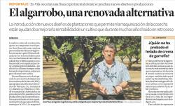 El algarrobo, una renovada alternativa.
