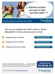 Vaughan: Oferta especial pels col·legiats en la contractació de campaments d'estiu o estades a l'estranger pels fills