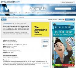 iGenium'14 a l'agenda de La Vanguardia
