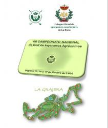 VIII CAMPIONAT INTERNACIONAL DE GOLF D'ENGINYERS AGRÒNOMS. (Logroño, 17, 18 i 19 d'octubre de 2014)