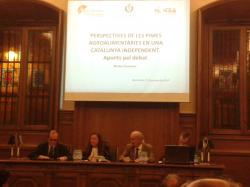 """Debat molt interessant a la Jornada sobre """"La indústria agroalimentària catalana davant el repte de la independència"""" (Barcelona, 27 d'octubre d 2014)"""