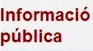 Informació pública la versió preliminar del Programa operatiu de Catalunya del Fons Europeu de Desenvolupament Regional per al període 2014-2020 i l'Informe de sostenibilitat ambiental.