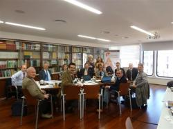 l'ICA-Association for European Life Science Universities- s'ha reunit a la Seu del COEAC a Barcelona
