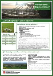 Publicació de fulletó de totes les línies d'ajut suport nou model de gestió de la fertilització i de les dejeccions ramaderes