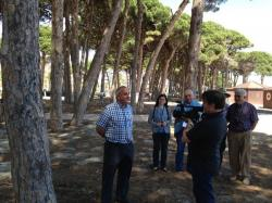 """Pere Cabot i Josep Maria Rofes a l'"""" Espai Terra """" de TV3 expliquen el projecte VILES FLORIDES."""