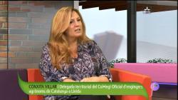 Vídeo: Conxita Villar, Delegada territorial del COEAC a Lleida al programa Cafeina a Lleida Televisió