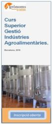 Nota de premsa:  La indústria agroalimentària: un sector estratègic i la importància del coneixement de la seva gestió