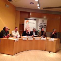 Debat Política Agrària COEAC-COETAPAC del 16 de desembre a l'ETSEA Lleida