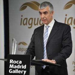 El company Ignasi Servià premiat com a millor tuitaire a Premis @iagua2015