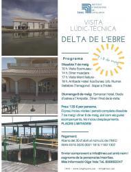 Visita Lúdic-Tècnica  Delta de l'Ebre 7 i 8 maig 2016