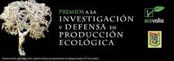"""XVIII edición de los """"Premios a la Investigación y Defensa en Producción Ecológica"""""""