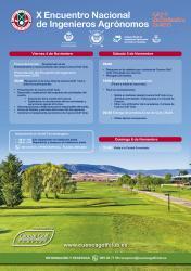 X Encuentro Nacional de Ingenieros Agrónomos- Campeonato de Golf
