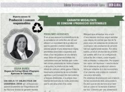 Article de la Degana, Silvia Burés, a la revista Món Empresarial