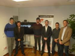 """Presentació de l'empresa E-STRATOS al COEAC. Una """"Star-up"""" puntera en Agricultura"""