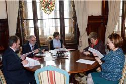 El Consejo General de los colegios de ingenieros agrónomos se reúne con la ministra de Agricultura, Pesca, Alimentación y Medio Ambiente