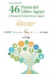 Convocatòria del 46è Premi del Llibre Agrari. 2n. Premi de l'Article Tècnic Agrícola