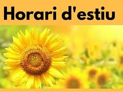 HORARI D'ESTIU