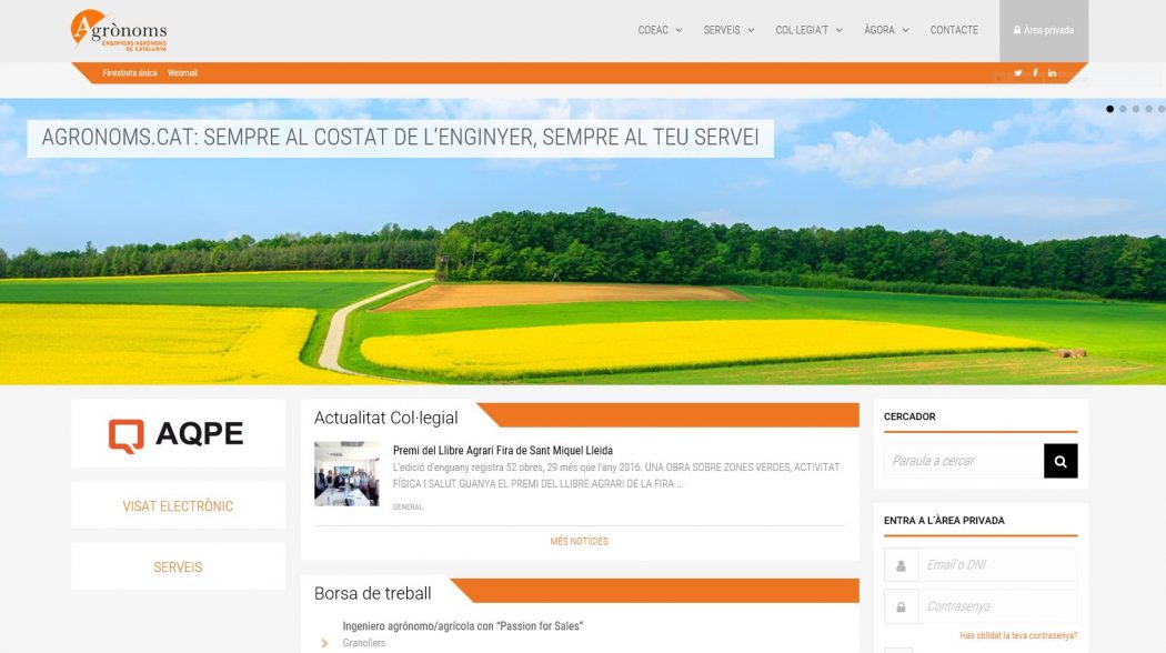 Estrenem nova web, adaptada a la teva tauleta i mòbil, amb un nou disseny més actual.