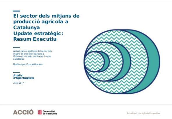 El sector dels mitjans de producció agrícola a Catalunya