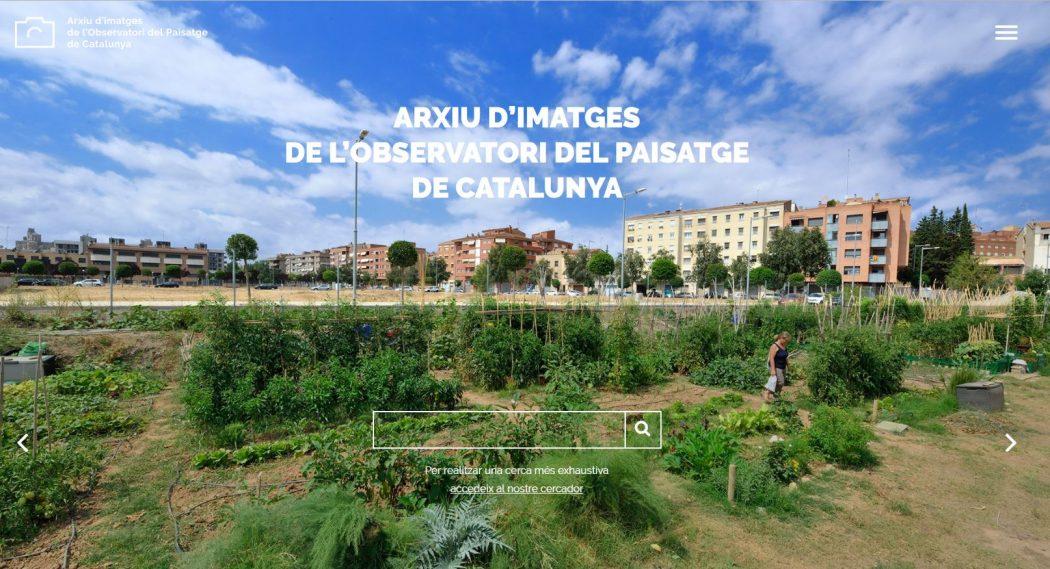 ARXIU D'IMATGES DE L'OBSERVATORI DEL PAISATGE DE CATALUNYA