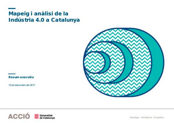 La Indústria 4.0 a Catalunya